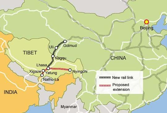 Tibet China Rail