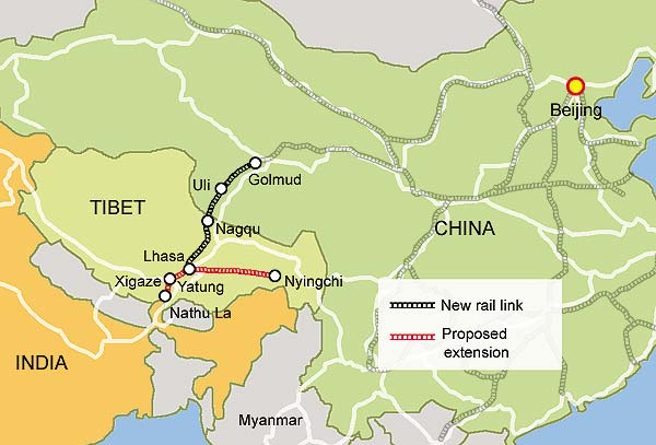 China approves new railway for Tibet | Dilemma X