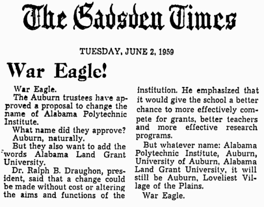 1959 June 2 Auburn University