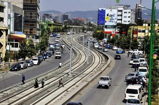 Addis Ababa metro rail