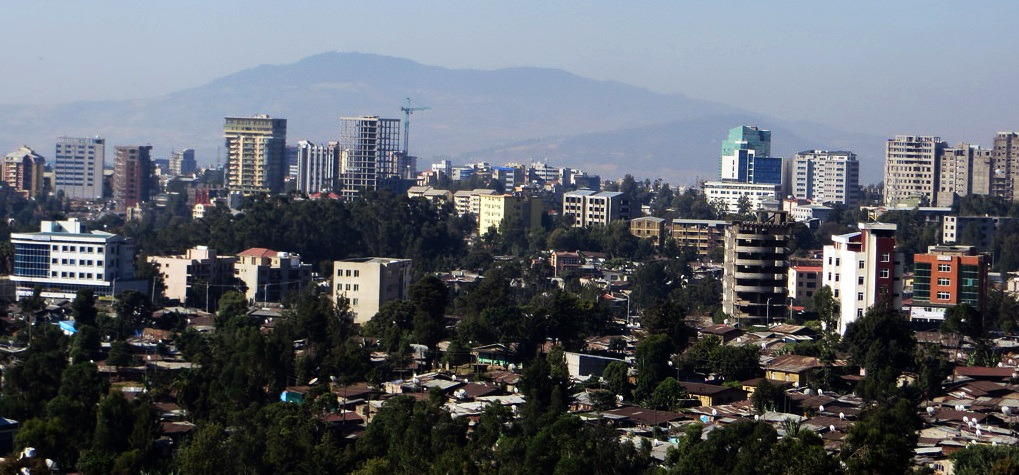 Addis Ababa Ethiopia  City pictures : Addis Ababa skyline