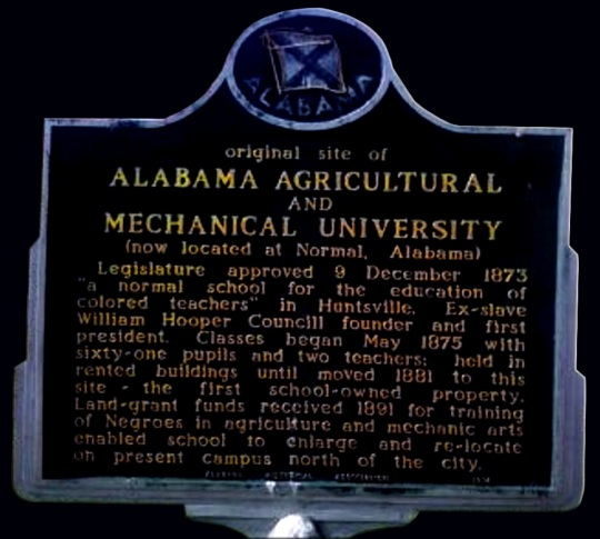 Alabama A&M sign