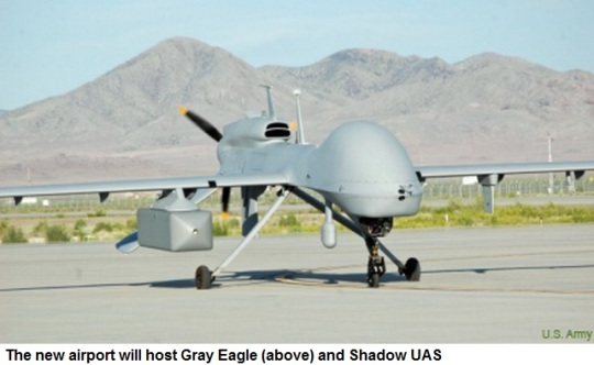 Fort Bliss Drone  Airport