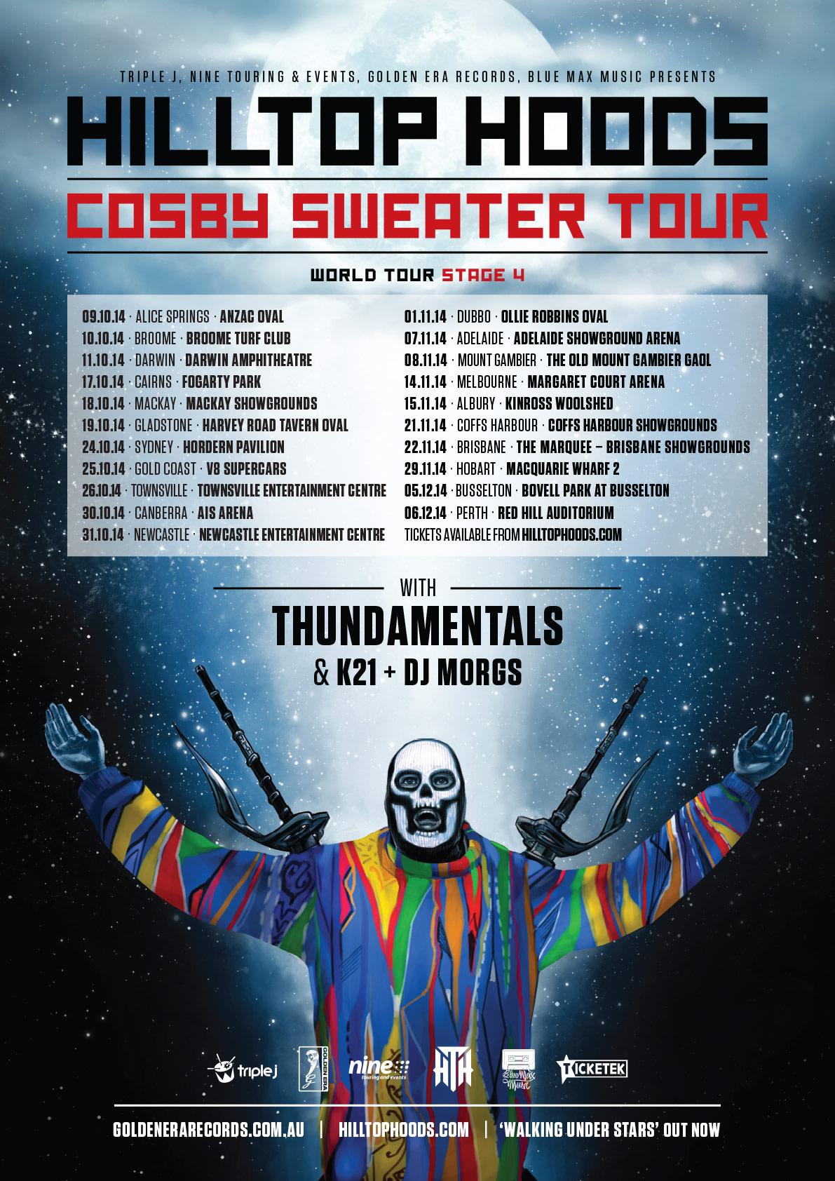 Hilltop Hoods Australian Tour