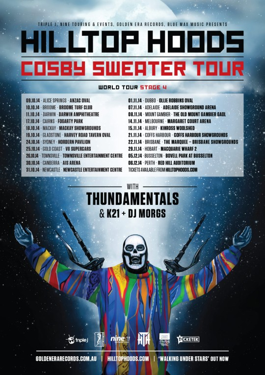 Hilltop Hoods Cosby Sweater
