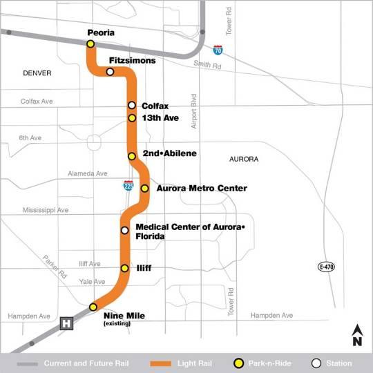 I-225 Rail Line