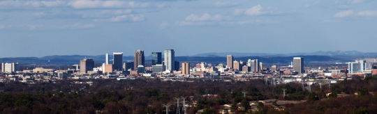 Birmingham Downtown Skyline