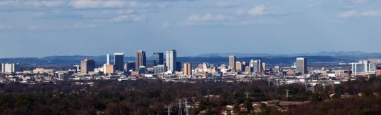 Birmingham Downtown Skyline