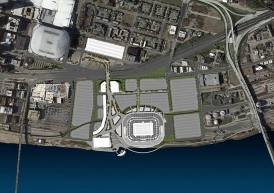 St Louis Rams Stadium