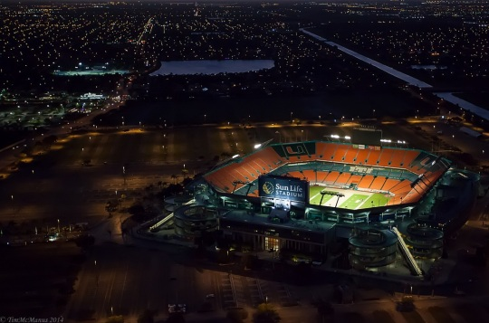 Sun Life Stadium Existing