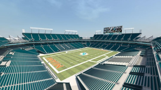 Sun Life Stadium renovation