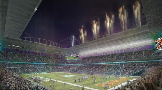 Sun Life Stadium renovation 04