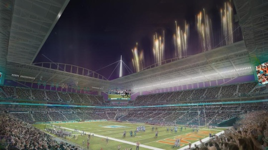 Sun Life Stadium renovation 04