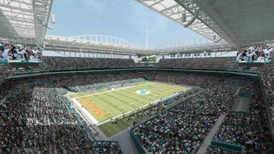 Sun Life Stadium renovation 05