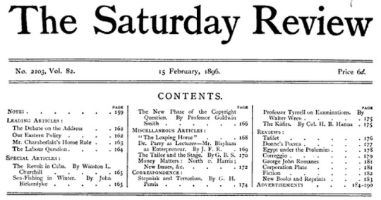 The Sunday Review 1896 -01