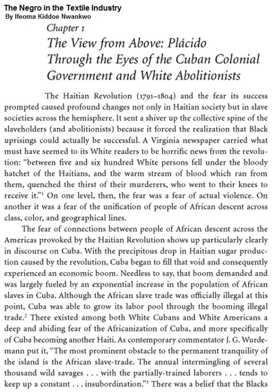 Through the eyes of the Cuban Colonial Government and White Abolitionists 01