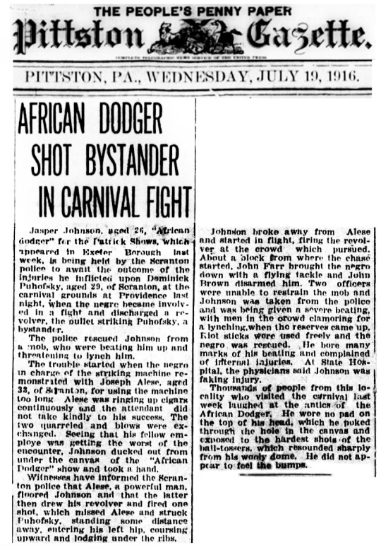 Hit The Nigger Baby 1916