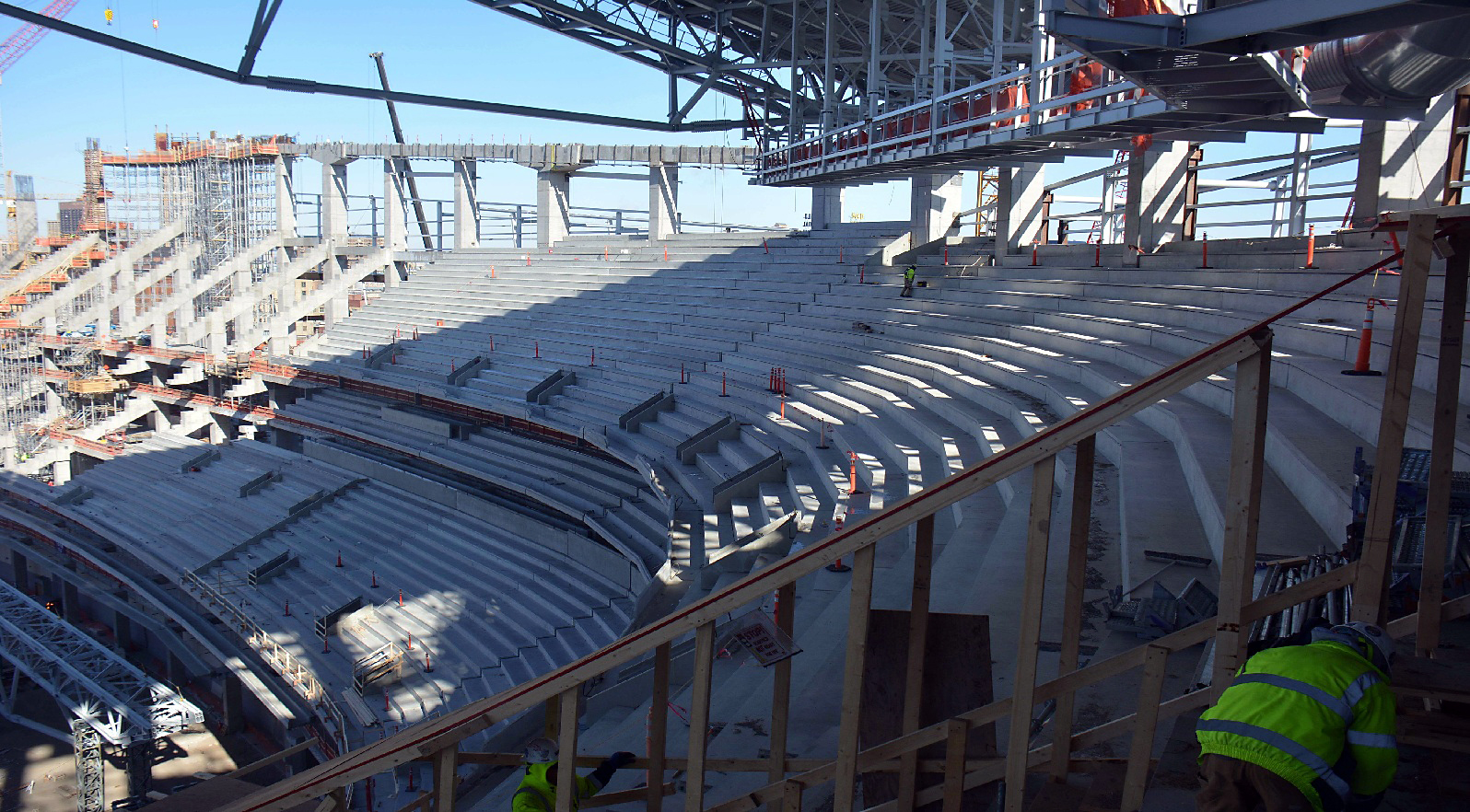 NFL new stadiums construction update -February 2015 ...