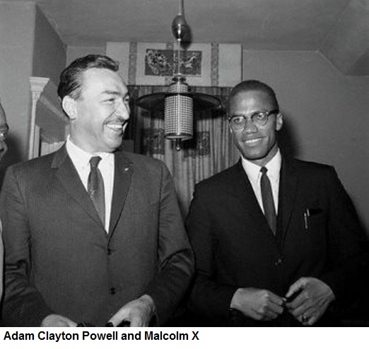 adam clayton powell and malcolm x