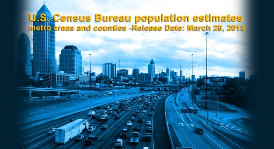 2015 metropolitan populations
