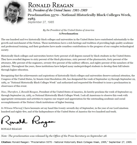 Proclamation 5370 of September 27 1985 Ronald Reagan
