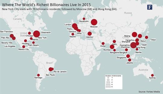 Wealth World cities