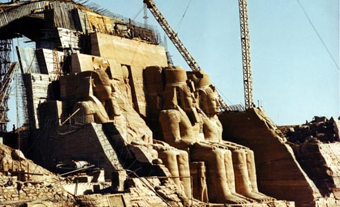 Abu Simbel relocation