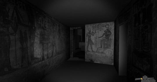 Abu Simbel original interior