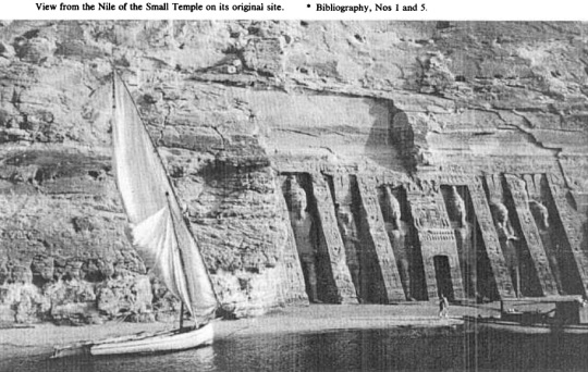 Abu Simbel original location