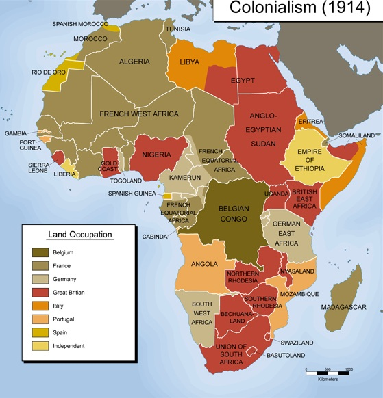 the use of european imperial power in africa
