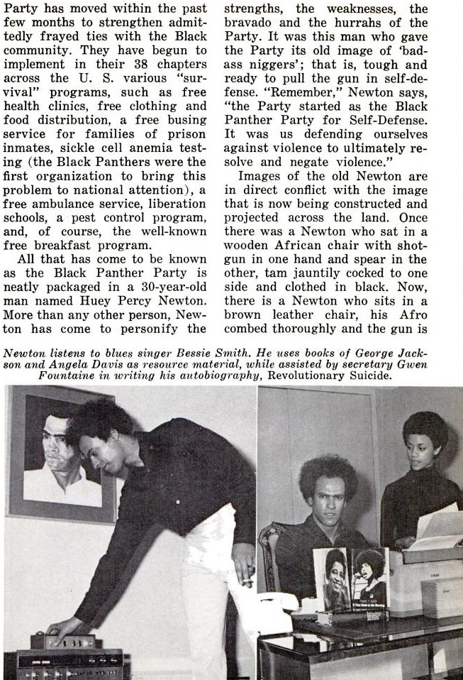 a huey p newton story essay Seize the time: the story of the black panther party huey p newton place, i have put together the true story of the black panther party.