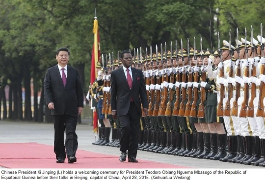 China Equatorial Guinea