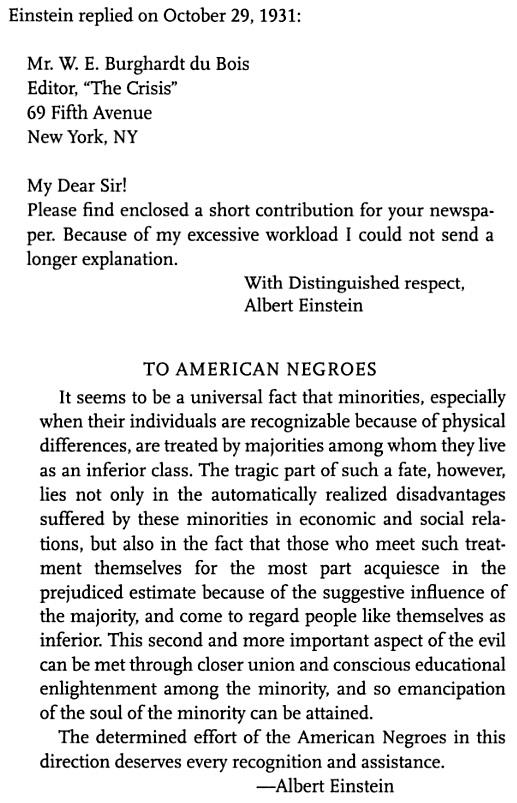 Einstein Dubois - African Americans 1931