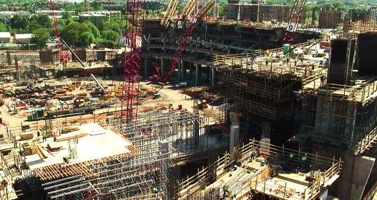 New Atlanta Falcons Stadium