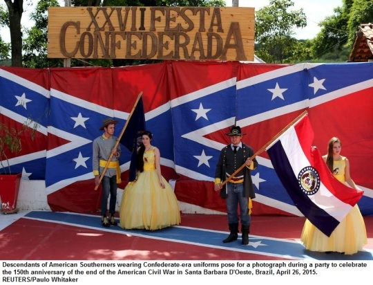 Brazil Confederate -Festa Confederada 2015