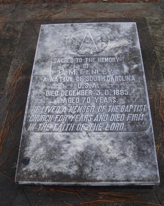 Confederate Grave Brazil