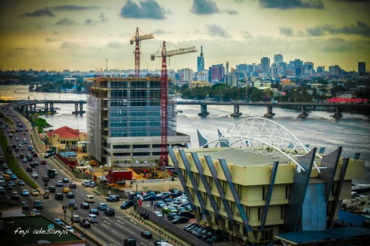 Lagos downtown