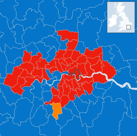 UK Elections 2015 London