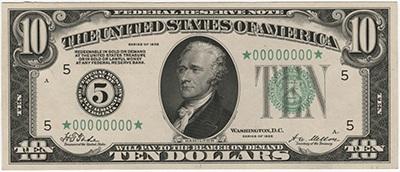 10 dollar 1929