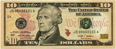 10 dollar 2006