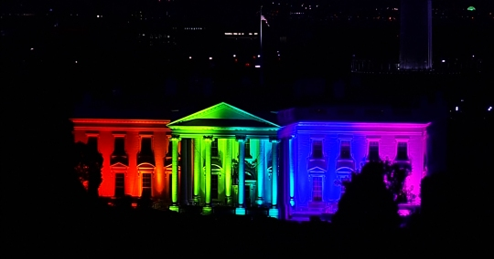 White House after gay marriage