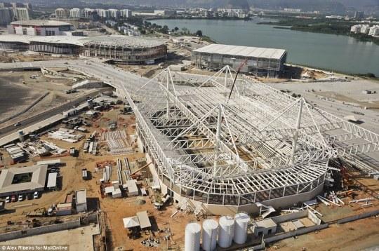 2016 Olympic Aquatics Centre