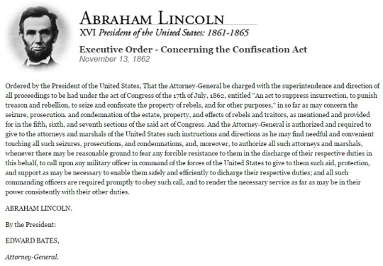 Abraham Lincoln November 13 1862