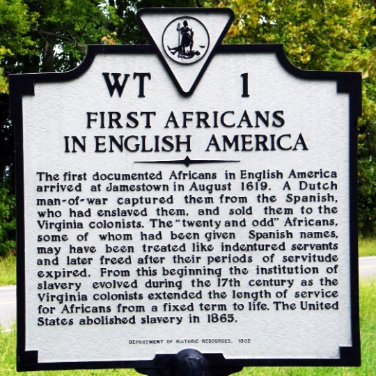 African Americans English America