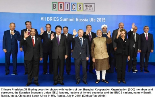 BRICS Summit Russia Ufa 2015