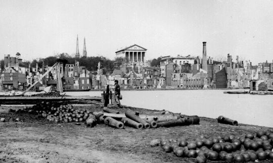 Richmond Virginia Capital Confederate States of America