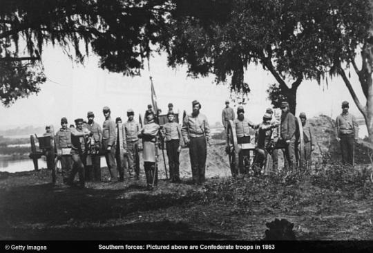 Confederate Soldier 1863