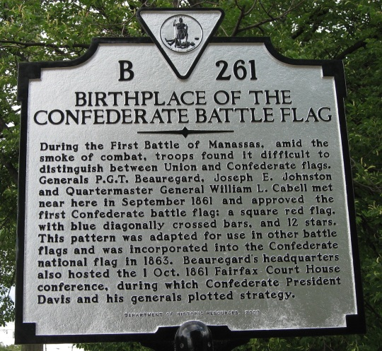 Confederate State of America Battle Flag