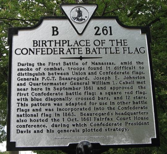 Confederate State of America Battle Flag