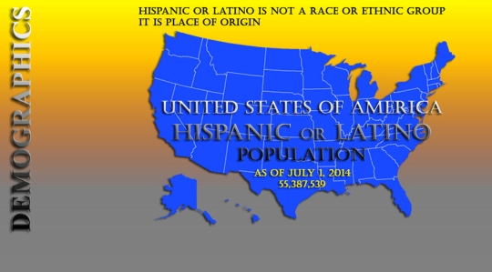 Hispanic Latino Population 2015